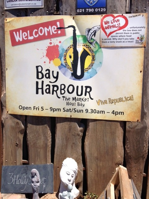 worth a step into an intimate yet viby Market looking over Hout Bay