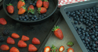 Save Berries by Freezing them.