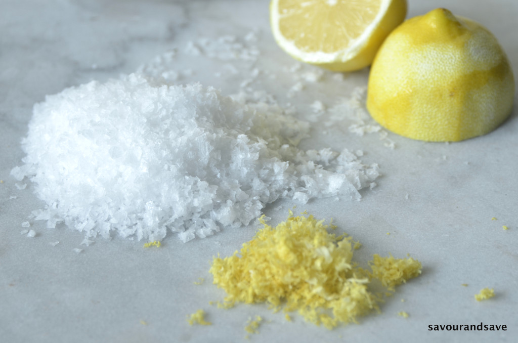 Lemon Zest into Brilliant Lemon Salt | Savour & Save