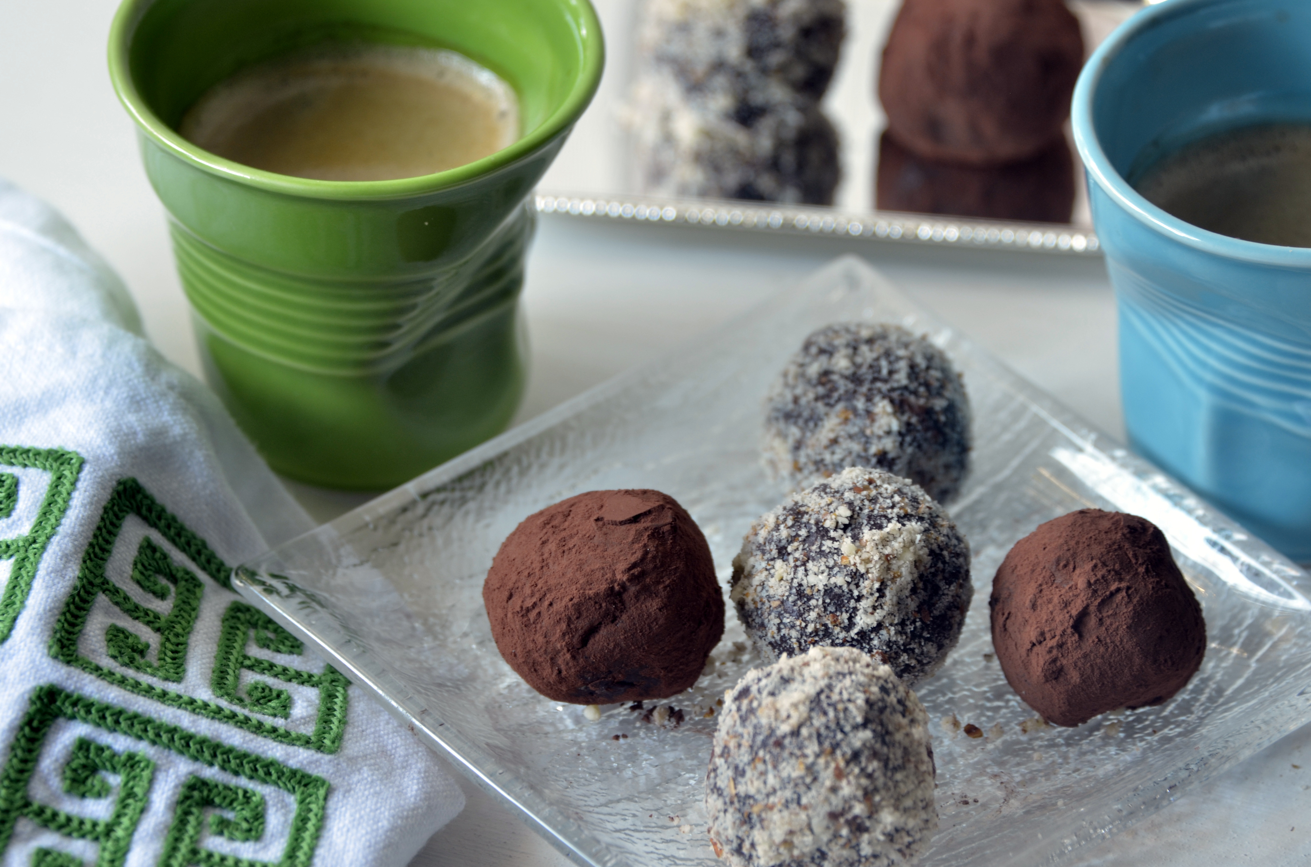 A shot of coffee and a truffle goes a long way!